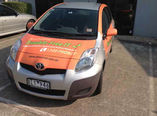 Copywriting for car wrap