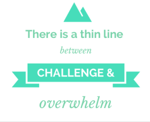 Challenge vs Overwhelm