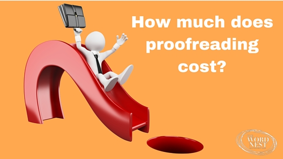 How much does proofreading cost?