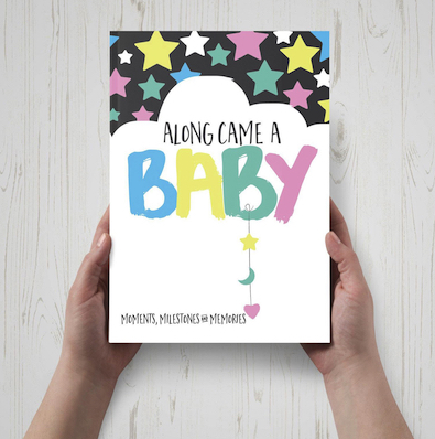 Along Came A Baby book editing front