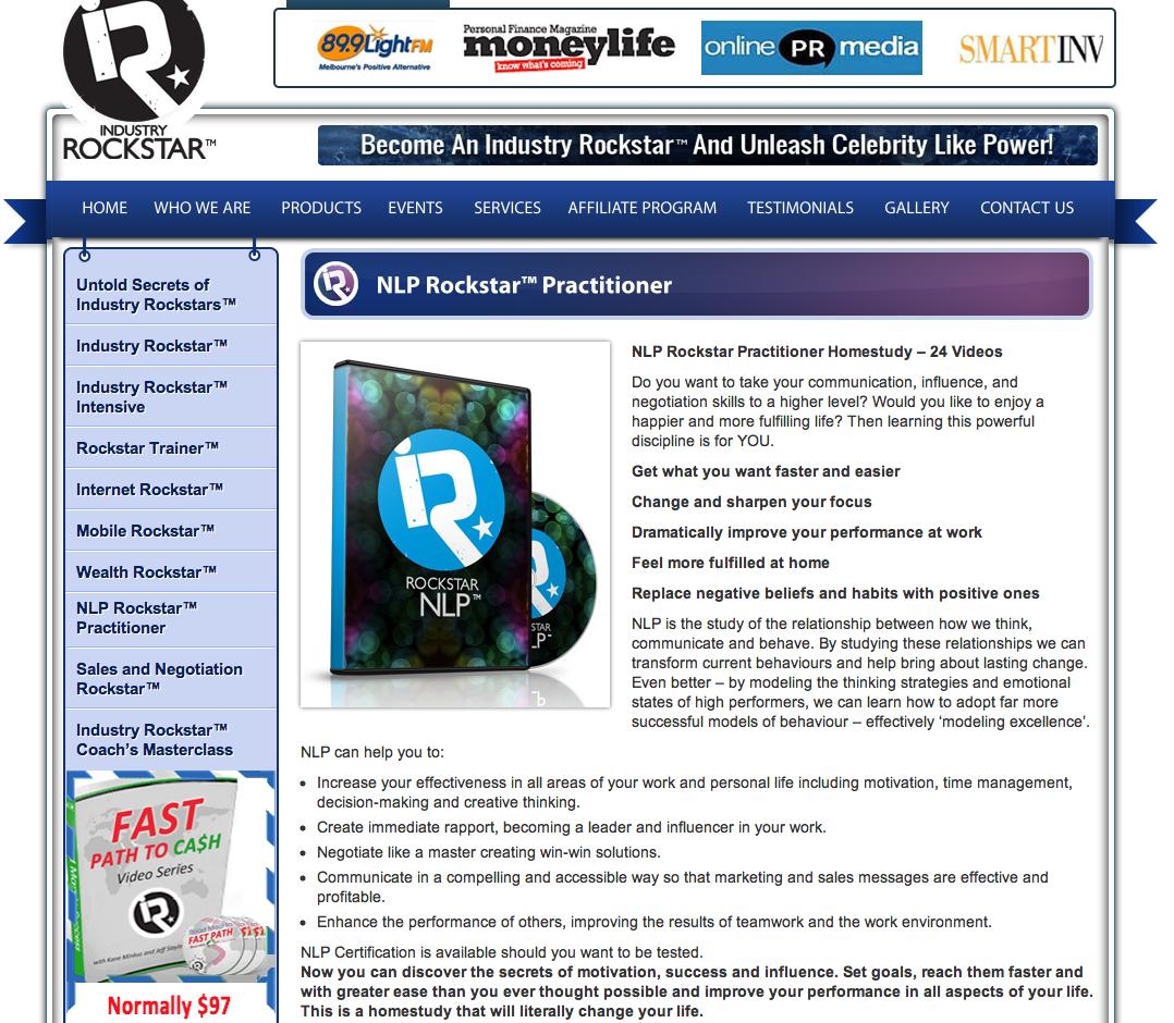 Industry Rockstar NLP