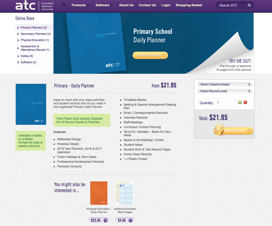 ATC Primary planner