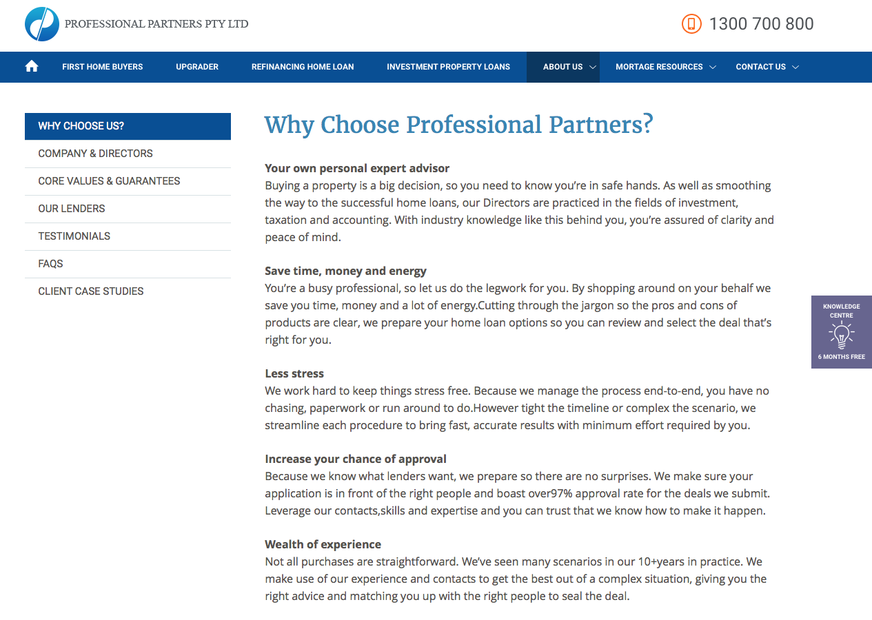 Ppartners why choose us?