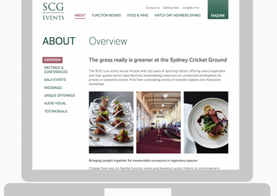 Sydney Cricket Ground Events