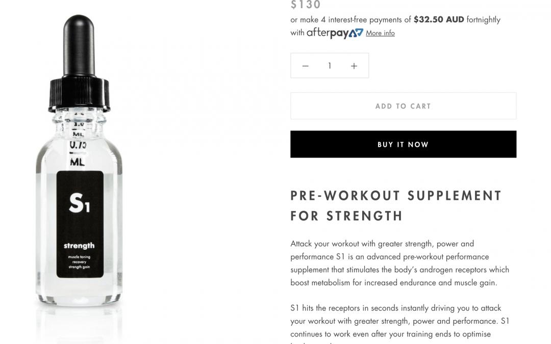 ESR You (Fitness & lifestyle supplements and social platform)