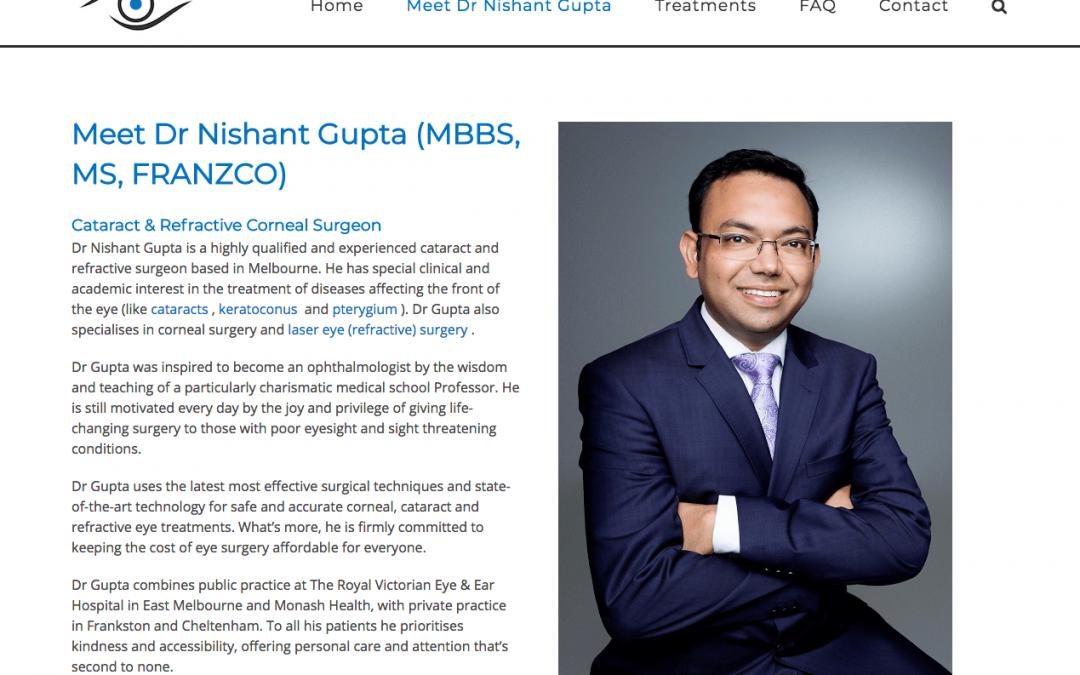 Nishant Gupta (Eye Surgeon)