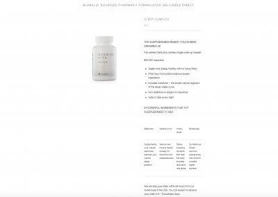 Neorion supplements home 2