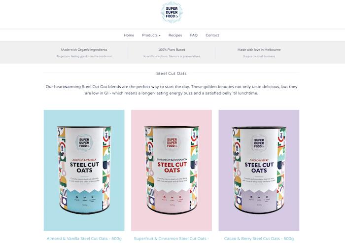 Organic-vegan-oats-product-packaging-copywriting