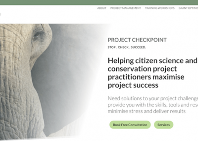 Project Checkpoint (Conservation project management services)