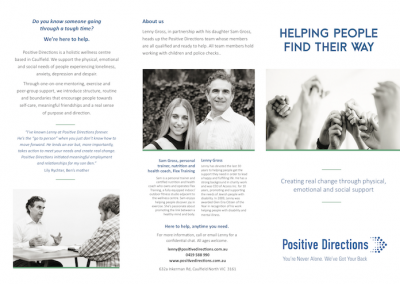 Positive Directions (Counselling services)