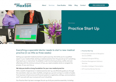 Hoxton Medical Practice Management