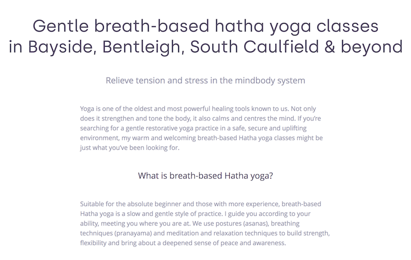 yoga-website-copywriting